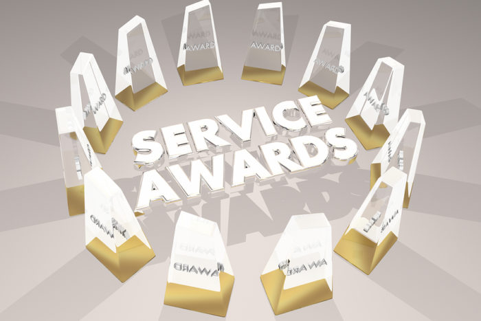 Service Awards for Employees