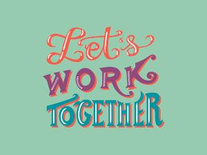 work together image