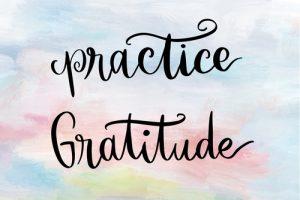 gratitude and attitude image