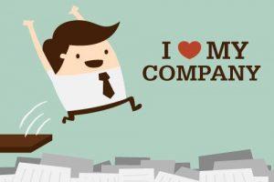 I love my company image