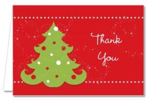 christmas tree thank you image