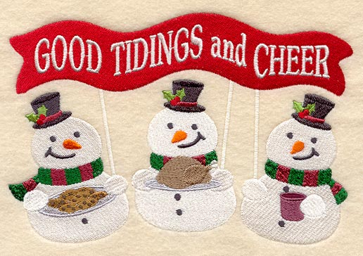 Spread Good Tidings and Cheer to All